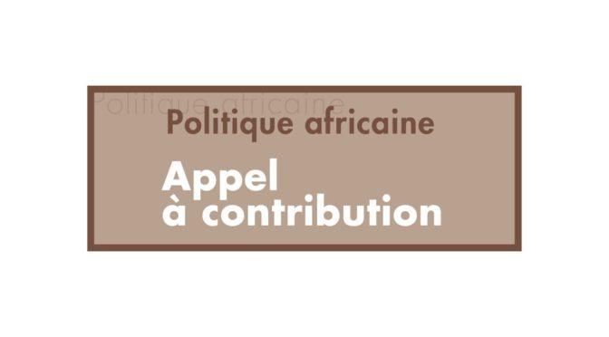 AAC_Penser les radicalisations religieuses – CFP Rethinking religious radicalisation in Africa
